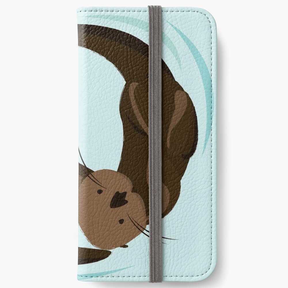 Otterfreunde iPhone Flip-Case