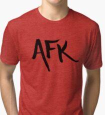 AFK - Black Tri-blend T-Shirt