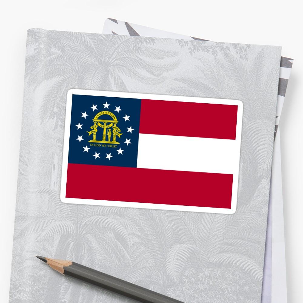 Georgia Flag by states