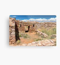 Mesa Verde Texture Metal Print