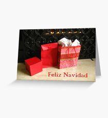 Feliz Navidad -  Spanish Christmas card Greeting Card