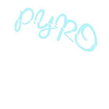 Pyro blue by Hozukimaru