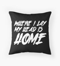 roaming Throw Pillow