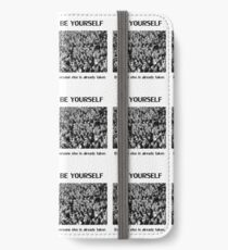 Be Yourself iPhone Wallet/Case/Skin