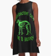 Radioactive Cats A-Line Dress