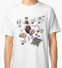 super cute patterns - sweet + brave + berry juicy Classic T-Shirt
