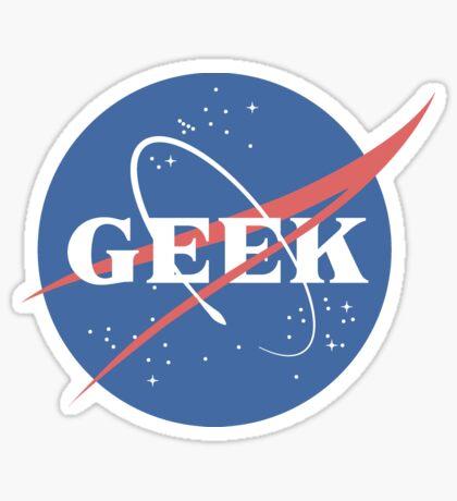 Space Geek Sticker