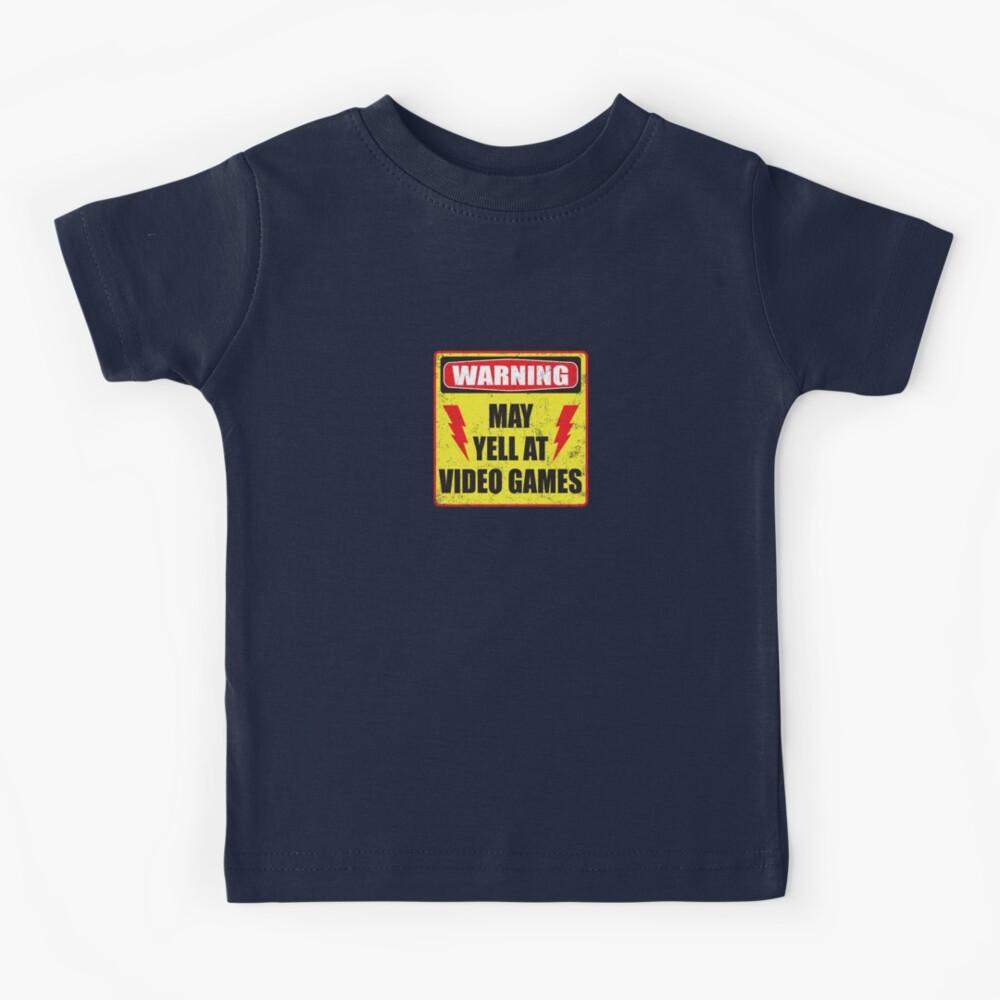 Gamer Warning Kids T-Shirt