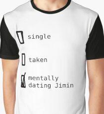 BTS - Mentally Dating Jimin Graphic T-Shirt