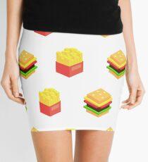 Burger x Fries Mini Skirt