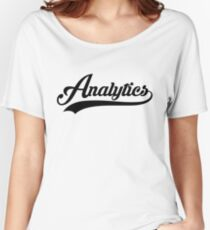 Team Analytics Tee Women's Relaxed Fit T-Shirt