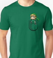 Pocket Link Hero of Time Zelda Unisex T-Shirt