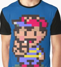 Ness - Earthbound Graphic T-Shirt