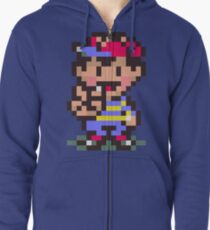 Ness - Earthbound Zipped Hoodie