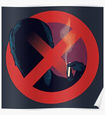 No Smoking, Man Poster