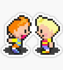 Young Lucas & Claus - Mother 3 Sticker