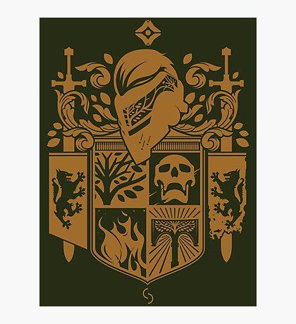 Iron Coat of Arms - IB Edition Photographic Print