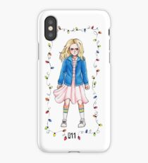 Stranger Things Eleven 11 iPhone Case/Skin