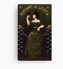 Haunted Mansion Madame Leota Canvas Print