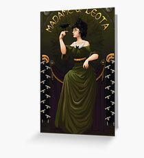Haunted Mansion Madame Leota Greeting Card