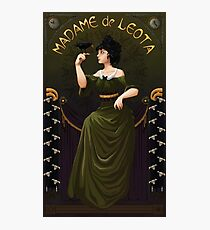 Haunted Mansion Madame Leota Photographic Print