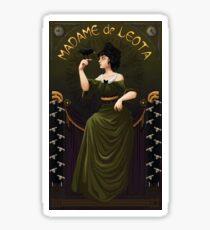 Haunted Mansion Madame Leota Sticker