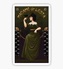 Haunted Mansion Madame Leota Sticker