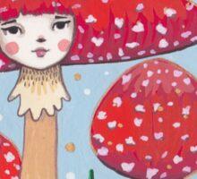 Uncommon Variety - Red Mushroom Sticker