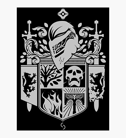 Iron Coat of Arms - DO Edition Photographic Print