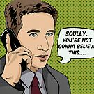 Pop Mulder by Sarah  Mac Illustration