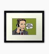 Pop Mulder Framed Print