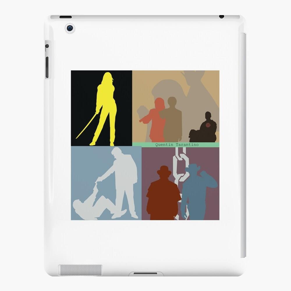 Quentin Tarantino Filmcollage iPad-Hülle & Skin