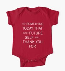 Do Something That Your Future Self Will Thank You For One Piece - Short Sleeve