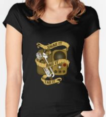 Snag It, Bag It, and Tag It! Women's Fitted Scoop T-Shirt