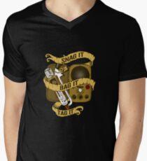Snag It, Bag It, and Tag It! Men's V-Neck T-Shirt