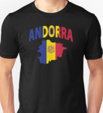 Andorra flag Unisex T-Shirt