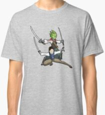 Vastra and Jenny - Demons Run Classic T-Shirt