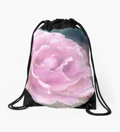 My Heart was Captured Drawstring Bag