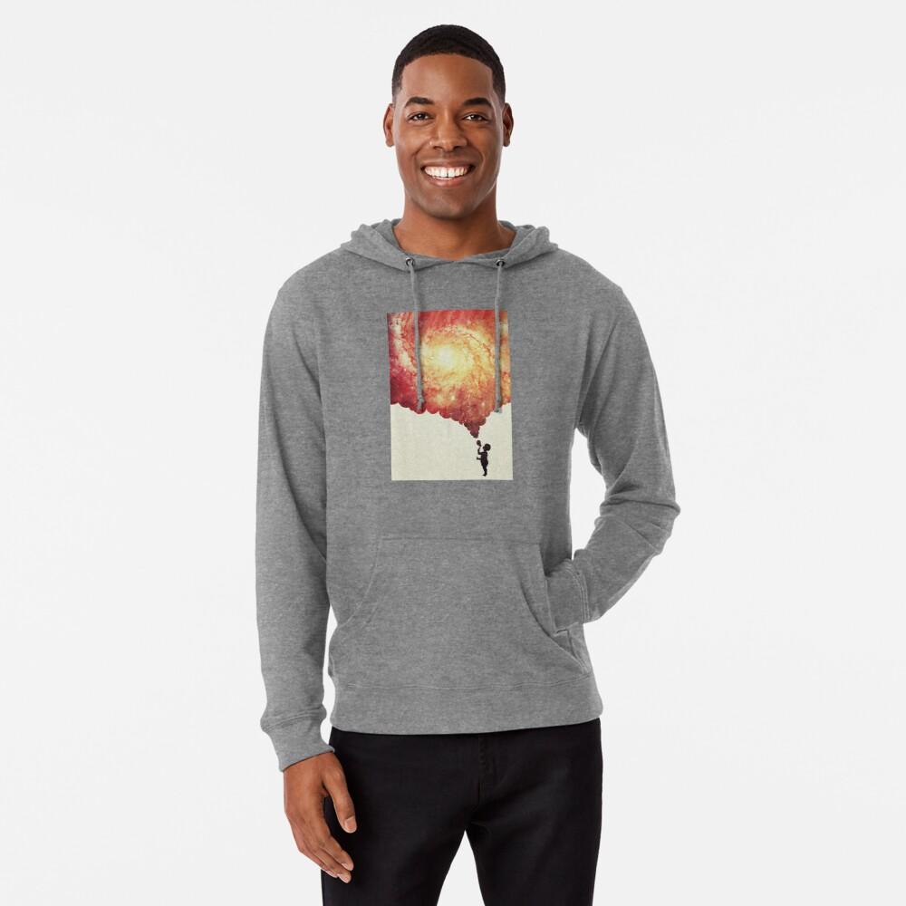 The universe in a soap-bubble! Lightweight Hoodie
