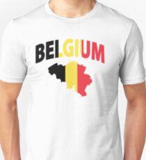 Belgium flag Unisex T-Shirt