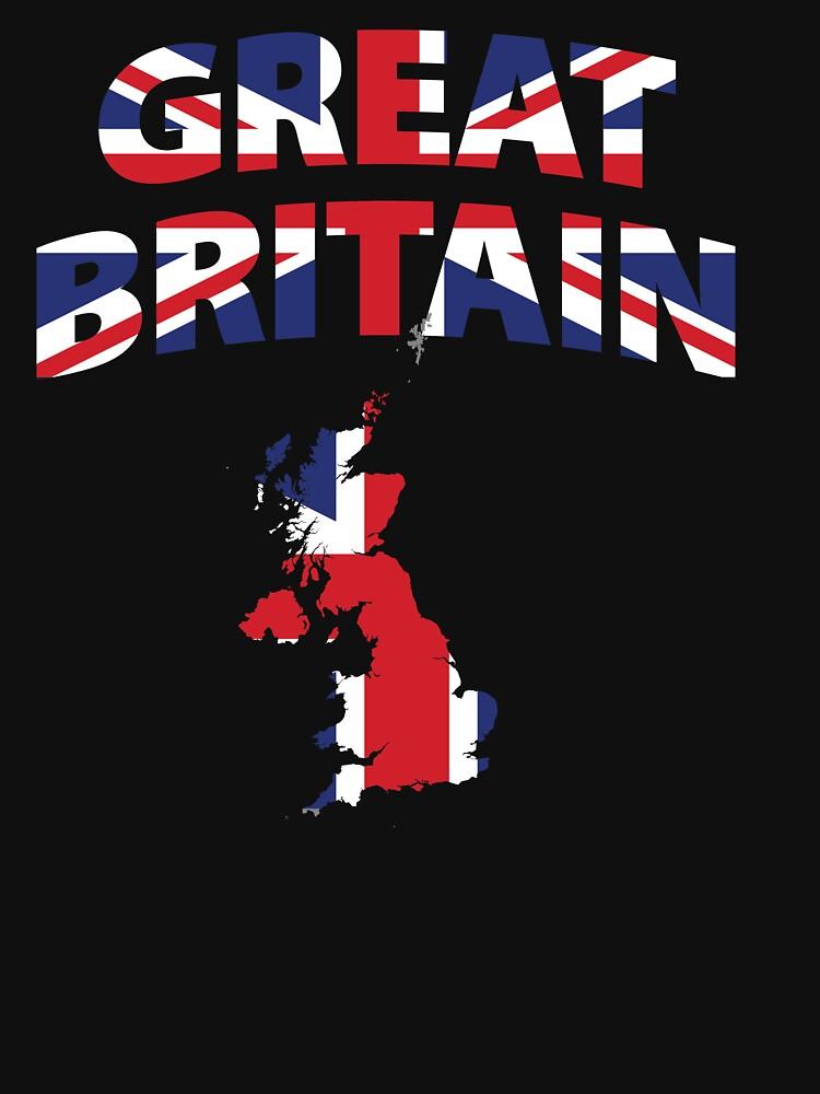 Great Britain flag by mamatgaye