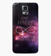 Galaxy-Some Infinities are bigger than other infinities-The fault in our stars Case/Skin for Samsung Galaxy