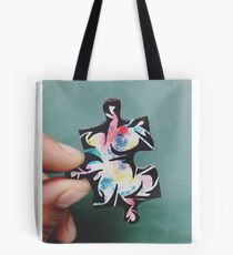 Puzzling Paint Tote Bag