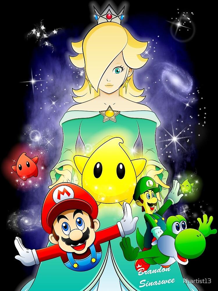 Mario Galaxy by khartist13