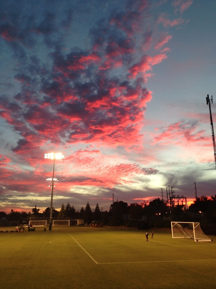 Soccer Sky by AlessaBrown