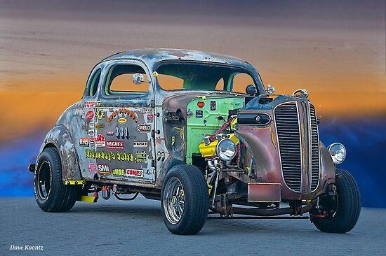 1938 Dodge Coupe 'Just Pass'n Gas' by DaveKoontz