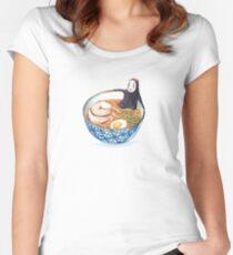 Spirit Ramen Bath Women's Fitted Scoop T-Shirt