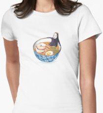 Spirit Ramen Bath Women's Fitted T-Shirt