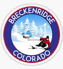 BRECKENRIDGE COLORADO SKI LIFT BERGE Sticker