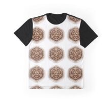 Gratitude Flower of Life Mandala Graphic T-Shirt